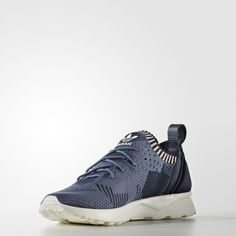 brand new 134f3 b51b8 Compare Prices Adidas ZX Flux ADV Virtue Primeknit Blue Shoes NO.BB4265