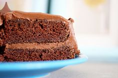 Chocolate Birthday Cake. - The Pretty Bee