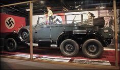 Adolf Hitler - 1939 Mercedes G4 Six-Wheeled Staff Car