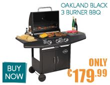 Treat your Dad this Fathers Day with the dream BBQ gift.  http://www.arro.ie/Products/OAKLAND-BLACK-3-BURNER-BBQ__Oakland3burner2015.aspx