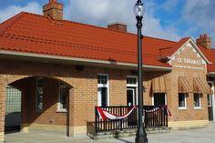 Railway City Tourism Building (Train Station) - St. Thomas, Ontario, Canada #explorerailwaycity #sttont