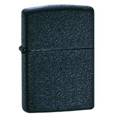 Zippo 2 Pack of Black Crackle