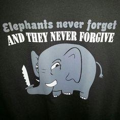 #lol #funnytshirts #elephants