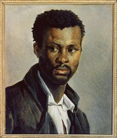 Theodore Gericault, Portrait of a Black Man (Joseph), c. 1818-1819, J. Paul Getty Museum