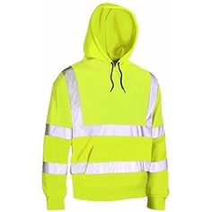 Best Quality Hi Visibility Hooded Sweatshirt