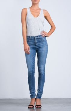 Rocket Highrise Skinny in Manic - Denim - CITIZENS of HUMANITY