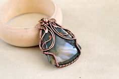 Hey, I found this really awesome Etsy listing at https://www.etsy.com/listing/190323390/jasper-pendant-wire-wrap-pendant-wire