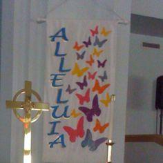 Easter Church Banner Patterns | Easter Banner