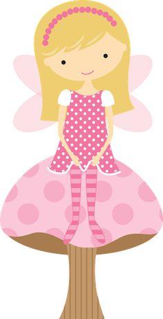 Princesas e Fadas - Minus Fairy Land, Fairy Tales, Girl Clipart, Clip Art, Fairy Princesses, Pretty Dolls, Cartoon Pics, Girls Image, Ballet