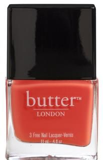 looking for that perfect shade of orangey fall nail color