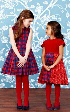 Oscar de la Renta Childrenswear Fall/Winter 2014 Trunkshow Look 11 on Moda Operandi