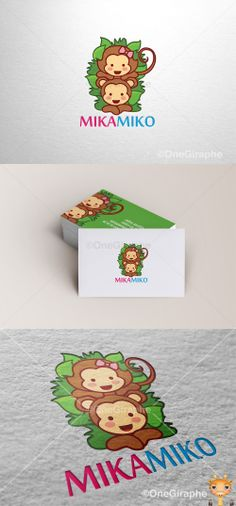 MikaMiko #children #child #kids #mom #monkey #animals #zoo #logo #logodesign #cute #graphic #design #designer #portfolio #behance #logopond #brandstack #sweet #logodesign #designer #brand #brandidentity #brandstack #logo #logodesign #graphicdesign #logopond #behance