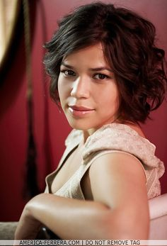 America Ferrera by VermillionTmac, via Flickr