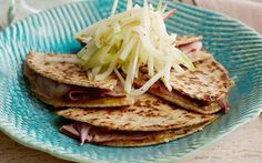 Ham, Apple and Cheese Quesadilla by Food Network Kitchens (Apple, Ham) @FoodNetwork_UK