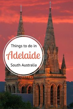 City Guide - things to do in Adelaide South Australia. Where to eat drink sleep shop explore and much more! Travel Tips Tips Travel Guide Hacks packing tour Perth, Brisbane, Melbourne, Sydney, Australia Travel Guide, Visit Australia, Australia Trip, Places To Travel, Places To See