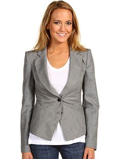 Good cut for work. Ted Baker Blazer $292 #blazer #jacket