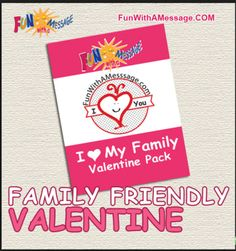 FREE Family Friendly Valentine Printable
