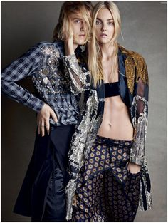 Blurred Lines: Vogue Highlights Androgynous Fashions