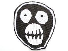 The Mighty Boosh Mask Logo Iron On Sew On Embroidered Patch £4.84 Amazon