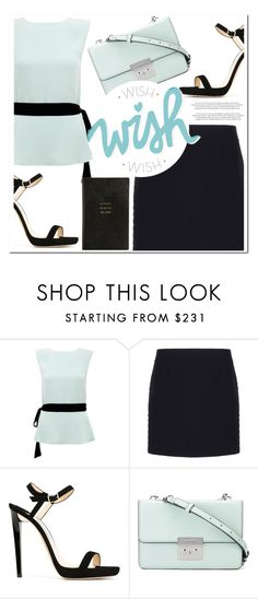 """""""Untitled #1083"""" by samha ❤ liked on Polyvore featuring Raoul, Balenciaga, Jimmy Choo, MICHAEL Michael Kors and Smythson"""