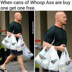 161 entries are tagged with wwe jokes. Funny Signs, Funny Jokes, That's Hilarious, Freaking Hilarious, Funny Laugh, It's Funny, Funny Shit, Wrestling Memes, Rugby Memes