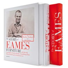 The Story of Eames Furniture by Marilyn and John Neuhart - this belongs in my library.