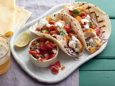 Tex Wasabi's Koi Fish Tacos Recipe : Guy Fieri : Food Network - FoodNetwork.com