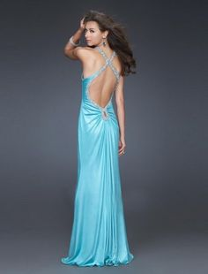 2011 Style Sheath / Column V-neck  Sleeveless Floor-length Elastic Woven Satin  Bridesmaid / Evening Dresses / Prom Dresses