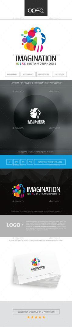 Imagination Logo — Transparent PNG #web #man • Available here → https://graphicriver.net/item/imagination-logo/16871919?ref=pxcr