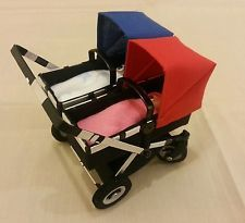 12th scale 1:12 miniature dolls pram bugaboo donkey lookalike babyshower gift