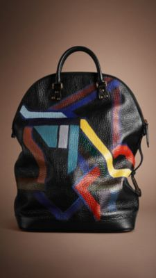 Burberry Prorsum Fall/Winter St. Ives Men's Bag Collection 2014