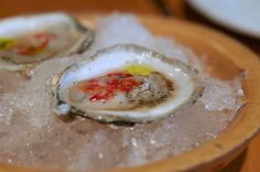 WILD GOOSE OYSTERS at Torrisi Italian Specialities NY