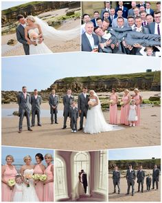 Wedding at the Grand Hotel, Tynemouth. Photography by Northumbrian Photography