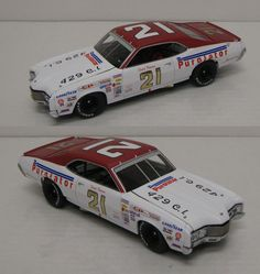 1971 DAVID PEARSON #21 PUROLATOR MERCURY CYCLONE *AUTOGRAPHED* 1/24 UNIVERSITY OF RACING LEGENDS DIECAST