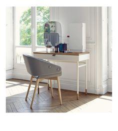 poise la coiffeuse décomposée par ana tevsic   design, miroir et ... - Coiffeuse Meuble Design