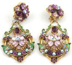 1970's Flower Earrings