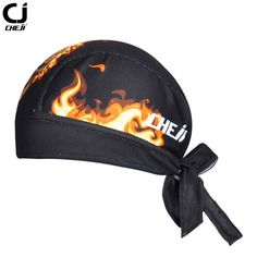 edac09f72e1e6 CHE JI Flame Bike Cap Breathable Cycling Scraf Caps Bicycle Bike Riding Hat  Cycling Bandana Ciclismo