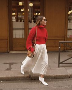 86bade9bb7 12 Best Red jumper images in 2018 | Fall fashion, Fall, Fall winter