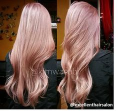 Just the right amount of #Springspiration! <3 this Rose Gold #hair
