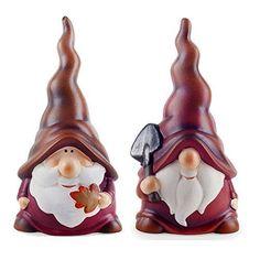 Austin & Basil the Terracotta Gardening Autumnal Garden Gnome Ornaments Gardens2you http://www.amazon.co.uk/dp/B00OUWNXVM/ref=cm_sw_r_pi_dp_wU0Cvb05PKX5M