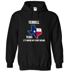 Terrell texas Its Where My Story Begins - #make t shirts #designer t shirts. GET => https://www.sunfrog.com/States/Terrell-texas-Its-Where-My-Story-Begins-Special-Tees-2014-6858-Black-9790938-Hoodie.html?id=60505