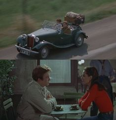 Two For The Road starred Albert Finney, Audrey Hepburn, and an ensemble of cars as the two traveled across Europe and their relationship evolved over a period of years. The film crew required multiple MGs to complete the movie. One hilarious scene called for the MG to catch on fire, be doused in an ocean of bubbles, and finally emerge as toast. The two stars had an instant on-screen chemistry that makes you come back again and again. A five star road movie.