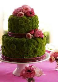 Centrotavola matrimonio torta di fiori