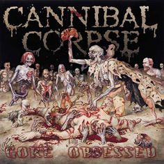 """Cannibal+Corpse+""""Gore+Obsessed""""+CD+at+https://www.indiemerchstore.com/"""