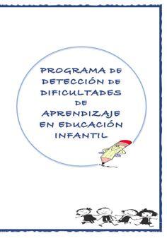 Programa de prevención de dificultades de aprendizaje en educación infantil