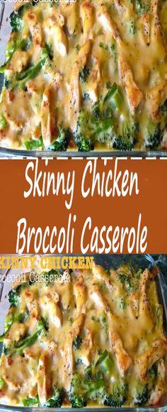Skinny Chicken Broccoli Casserole Recipe – Jasmine's Cooking Diet Dinner Recipes, Ww Recipes, Chicken Recipes, Cooking Recipes, Healthy Recipes, Recipe Chicken, Recipies, Diabetic Recipes, Delicious Recipes