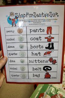 Krazy for Kindergarten Goes to 3rd!: December Math Stations