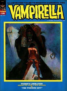 VAMPIRELLA #14 Cover Art - Sanjulian