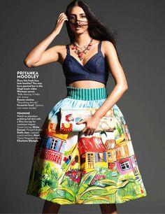 Vogue India March 2015   Nidhi Sunil, Erika Packard + More by Bikramjit Bose