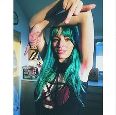 The Wildest Hair-Dye Trend We've Seen Yet #refinery29 http://www.refinery29.com/pastel-armpit-hair#slide1